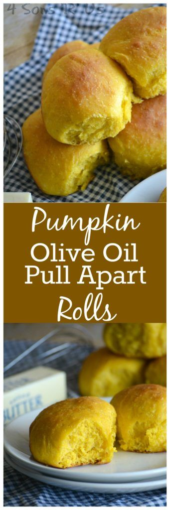 Skip the store-bought package of buns– these soft Pumpkin & Olive Oil Pull Apart Rolls are easy enough for anyone to make. As slider buns, as your new go-to dinner date, or even dipped in a hearty bowl of your favorite soup– whatever incarnation you enjoy them in, they're perfect.