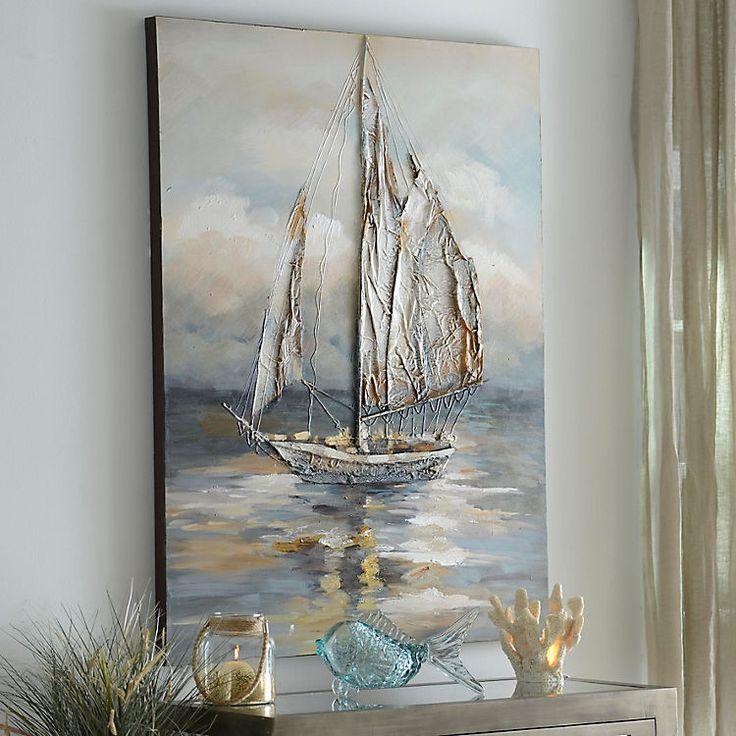 Moonlight Voyage Canvas Art Print | Kirklands