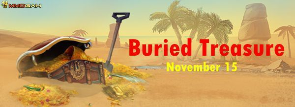 RuneScape News: Get Hunting for Buried Treasure