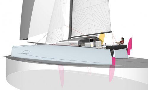 TS35, a speedboat catamaran for going far...