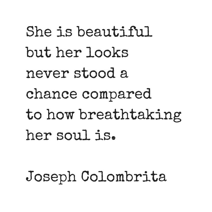 She is beautiful but her looks never stood a chance...  Quote