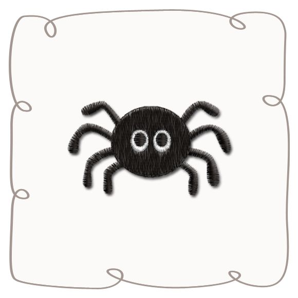 Spider Machine Embroidery Design pattern-INSTANT DOWNLOAD
