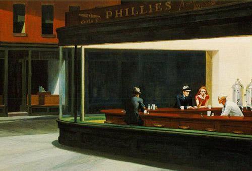 Nighthaws d'E. Hopper