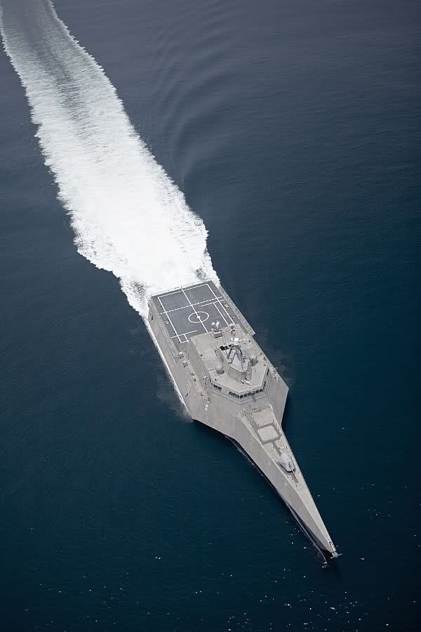Littoral Combat Ship - a class of relatively small surface vessels intended for operations in the littoral zone (close to shore) by the United States Navy.  Likened to corvettes of other navies. -- The Industrialist