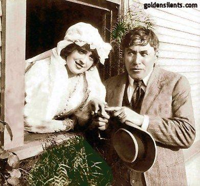 Mabel Normand and Mack Sennett circa 1914