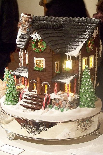 That it, I'm determined!!! I'm going from crack house to master gingerbread house by next year!