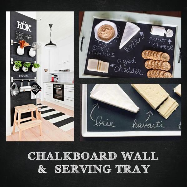 "Chalkboards - Self Adhesive Chalkboard Contact Paper - 17"" X 96"""