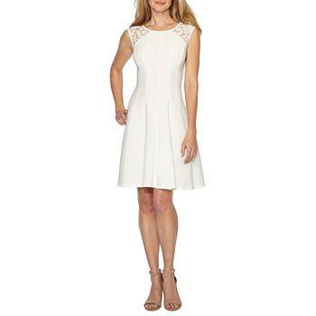 34c74c2b4bcd Women's Little White Dress, White Graduation Dresses - JCPenney ...