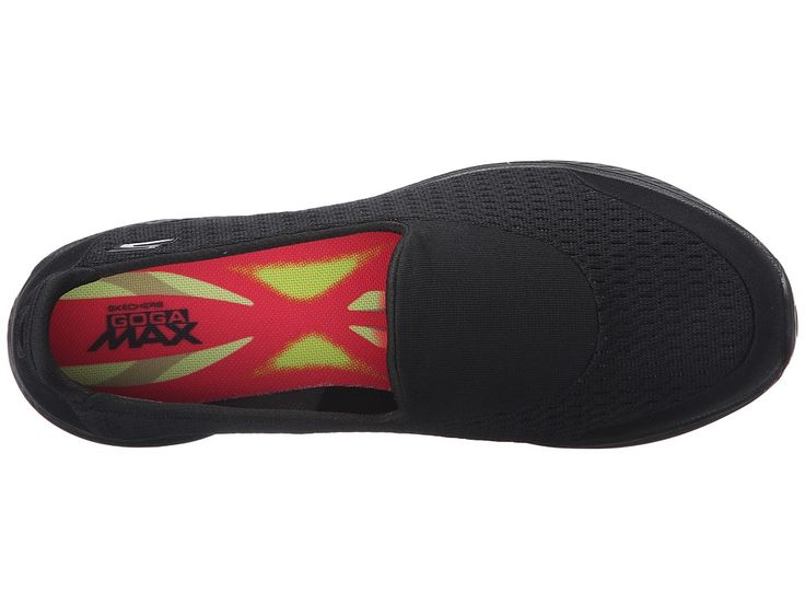 SKECHERS Performance Go Walk 4 - Pursuit Women's Slip on Shoes Black