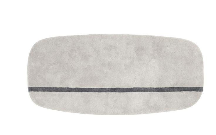 Oona Carpet - Modern grey wool carpet, 90x200 cm - Maybe for hallway?