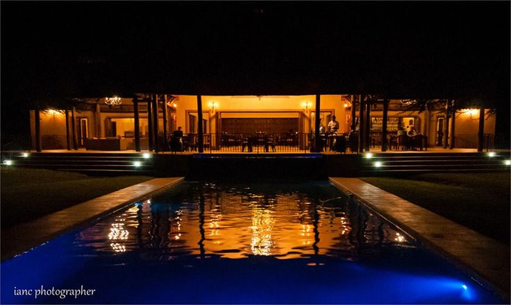 Lapeng Guest Lodge - Wedding Venue #wedding #lights #night #atmosphere #romantic #perfect #venue