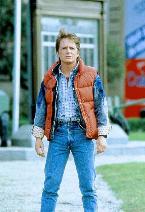 cosmic query what color is marty mcfly 39 s vest leading fellows back to the future marty. Black Bedroom Furniture Sets. Home Design Ideas