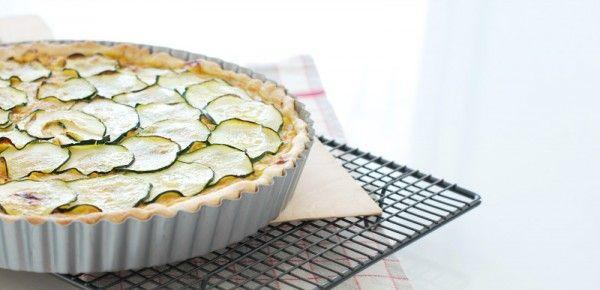 Tarta salada fácil de pollo, maíz y calabacín | Velocidad Cuchara