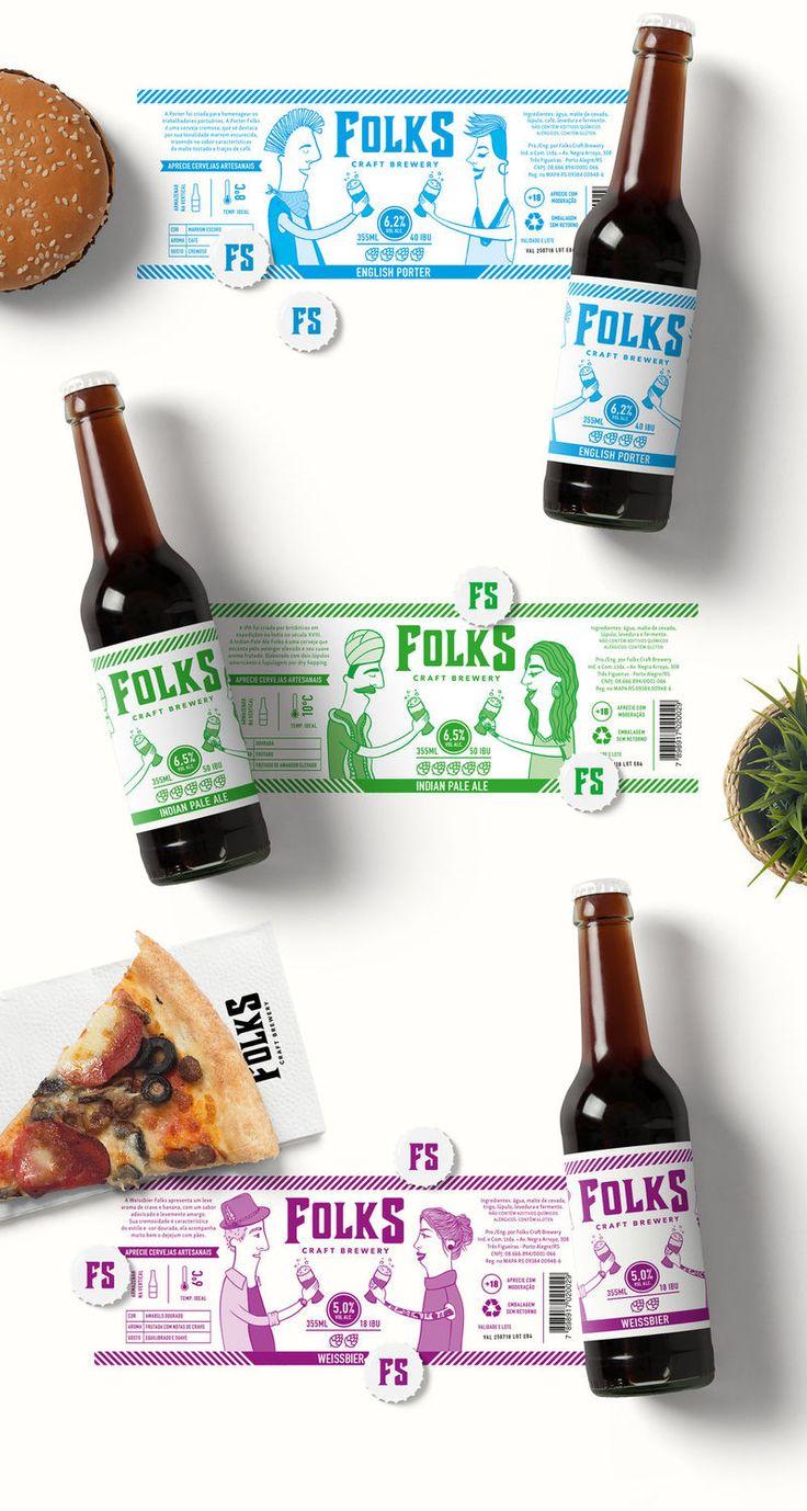 Multicultural Beer Branding - Folks Craft Brewery Celebrates Sharing Beer Across Cultures (GALLERY)