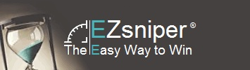 EZ sniper : Free ebay auction sniper software. Snipe auctions online. Automatic esnipe bid sniping agent.