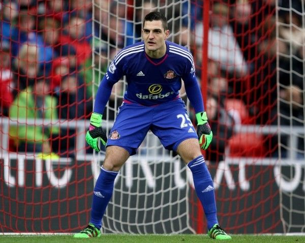 Aston Villa are reportedly keen on signing Sunderland goalkeeper Vito Mannone in January. The 28-year-old has struggled for first-team action  Source