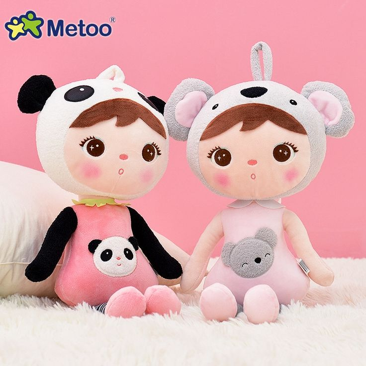 8.70$  Buy now - http://aligtw.shopchina.info/go.php?t=32683223080 - 45cm Plush Sweet Cute Lovely Stuffed Baby Kids Toys for Girls Birthday Christmas Gift Cute Girl Keppel Baby Doll Metoo Doll 8.70$ #bestbuy