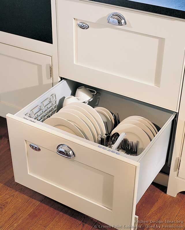 Drawer dishwasher... yes, please! When we move this will be put into my next kitchen.