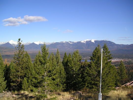 DOUBLE ARROW LOOKOUT, MT: fire tower for rent near Seeley lake, near Missoula