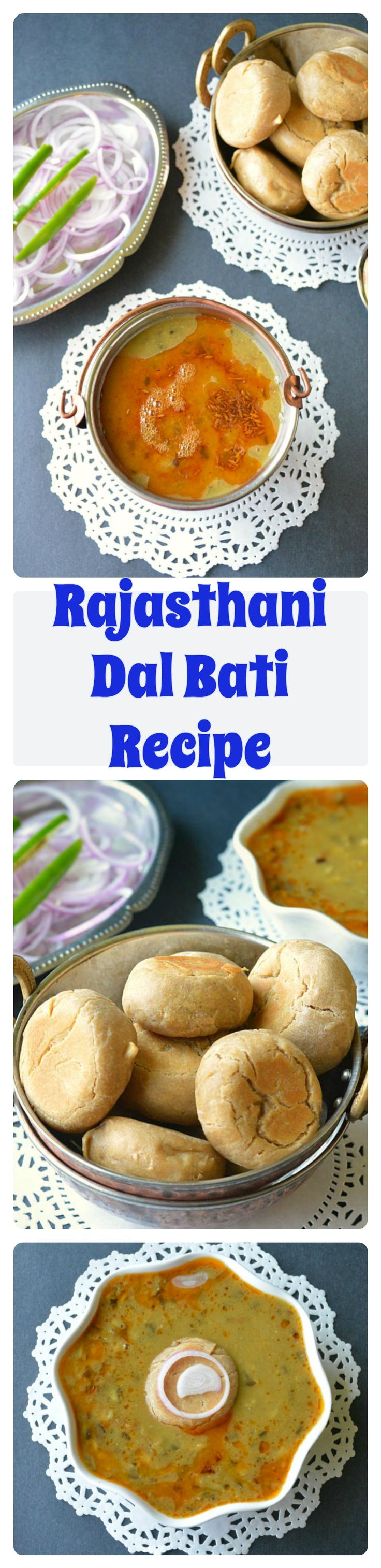 A #Rajasthani #Cuisine - #Dalbati . #Bati is a #wheat #dough balls that is cooked over gas/stove without oven. Enjoyed with #dal!! #rajasthani #baati #dinner #batirecipe #indianfood #foodie #recipeoftheday #recipes #dhal #daal #indianlentils #lentils