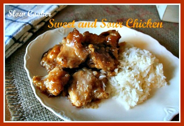 sweet and sour slow cooker chicken crockpot ideas recipes slow cooker ...