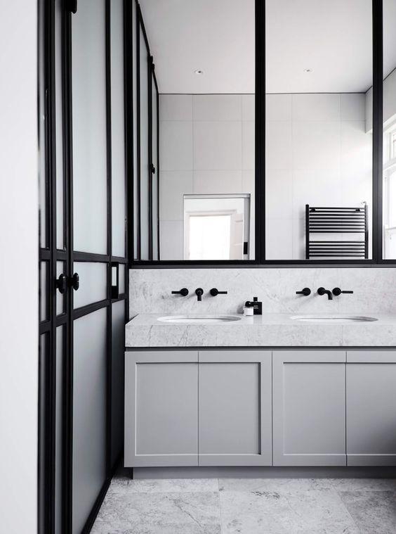 Bathroom | Elsternwick Home by Mim Design | est living