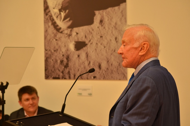 Buzz Aldrin's visit to share his Since Today moment