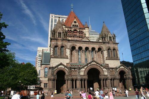 Trinity Church, Copley Square by H.H. Richardson