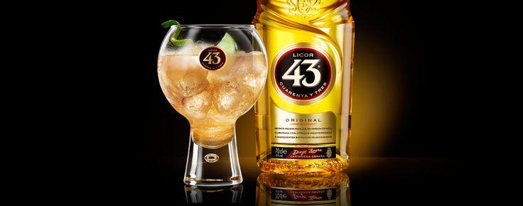 Likör 43 Cocktail - Ginger Kiss - Likör 43 Kochbuch - Licor 43 Rezepte