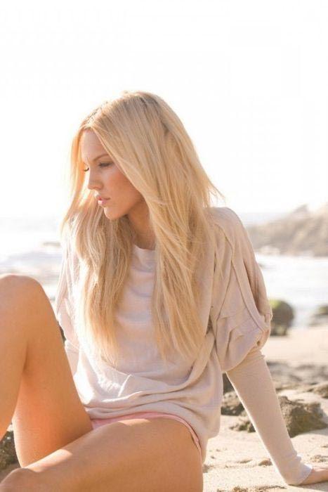 Blondinen Am Strand