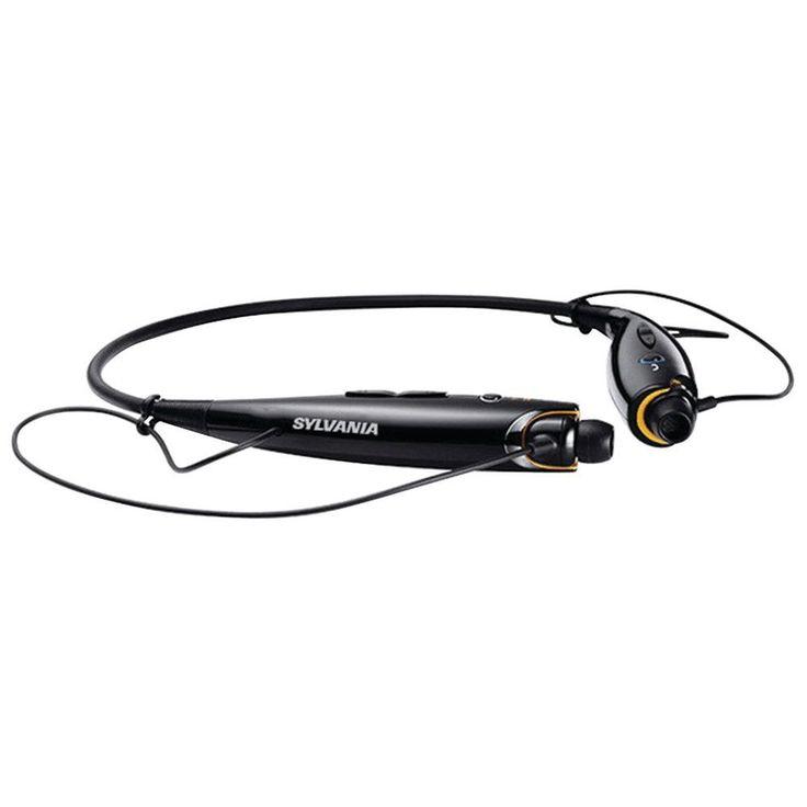Sylvania Bluetooth Sport Headphones With Microphone