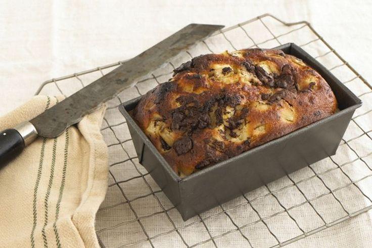 Yogurt cake with pear and dark chocolate recipe on Food52