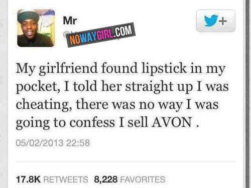 Girlfriend Found Lipstick In My Pocket