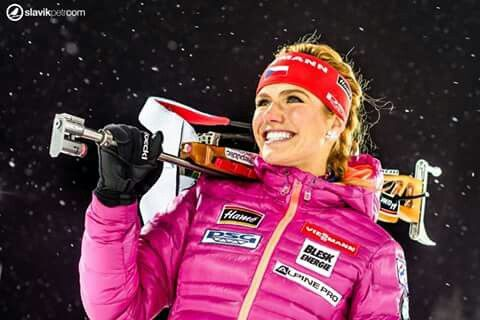 Pretty woman Gabi :* with new nice earings ;)      #ceskybiatlon #slavikphoto
