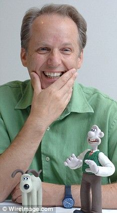 Nick Park with Wallace and Gromit