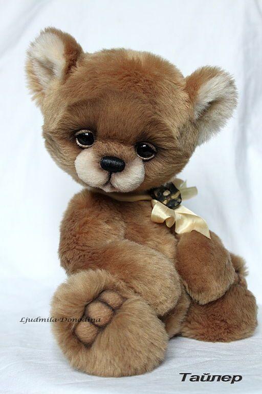 Tyler Lyudmila Donodina Teddy bear handmade.  Fair Masters - handmade Tyler.  Handmade.