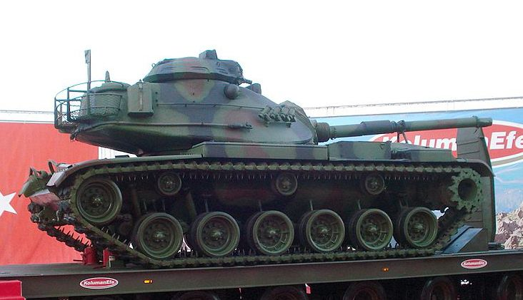 "M60A3 TTS ""Patton""  of the Turkish Army"