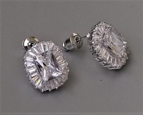 Art Deco Style Stud Earrings Josephine