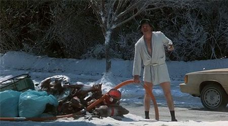 Shitter's Full! National Lampoon's Christmas Vacation... only one of the best Christmas
