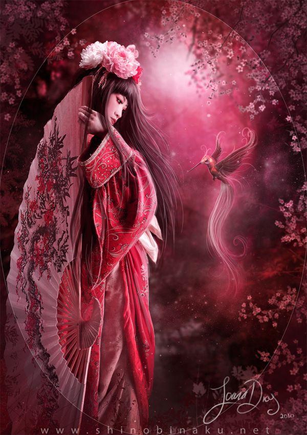 Beautiful Illustrations by Shinobinaku   Abduzeedo Design Inspiration & Tutorials