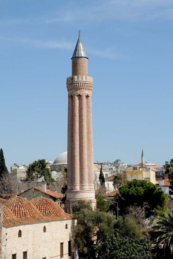 Fluted Minaret Kaleici, Antalya, Turkey