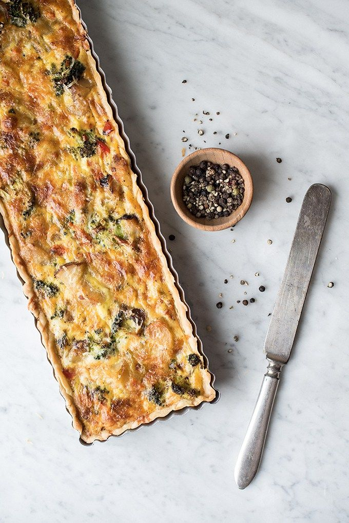hearty vegetable frittata | superman cooks