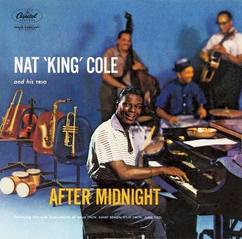 August 15th: In his first session at the new Capitol Tower (built largely upon Nat Cole's success) Nat 'King' Cole starts (re-) recording several of his old hits, including Sweet Lorraine and Route 66 for the album 'After Midnight', which will be released next year.