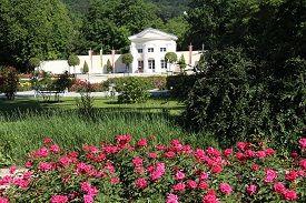 Orangerie im Doblhoffpark (Foto: Stadtgärten Baden)