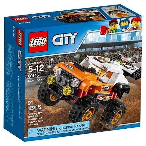 LEGO® City Great Vehicles Stunt Truck 60146