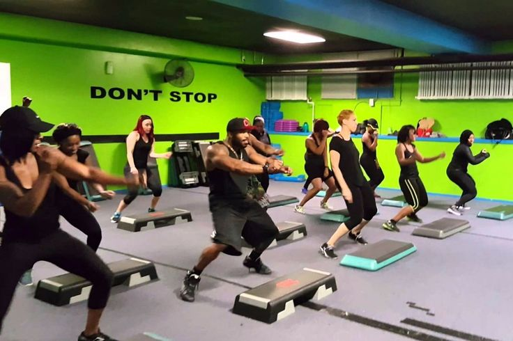 After Watching This Class Get Down to Beyoncé, You Will Never Look at Step Aerobics the Same