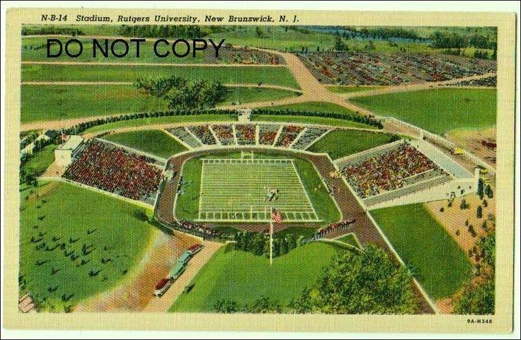 Stadium, Rutgers University, New Brunswick NJ