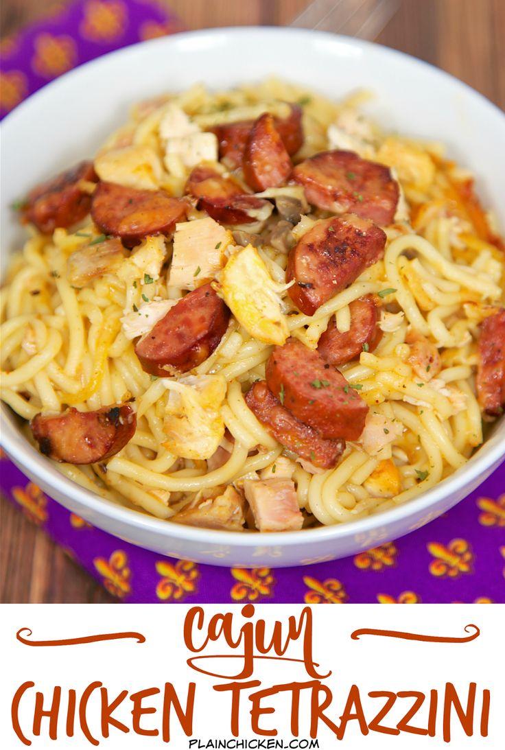 Cajun Chicken Casserole (with Cheese) Recipe — Dishmaps