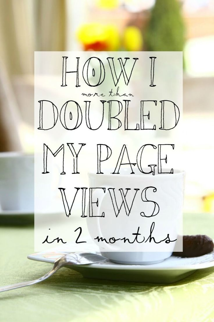 How I Doubled My Page Views in 2 Months --- 10 tips to help you grow your blog. || via diybudgetgirl.com #blogging #blog #tips #writing #pageviews
