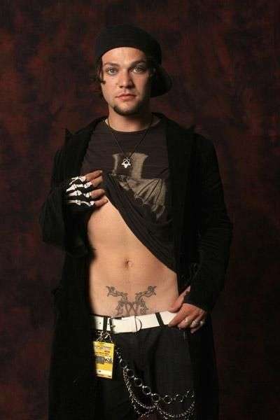 I'm a sucker for a cute boy with tattoos!  Bam Margera!
